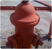 Fire Hydrant installation